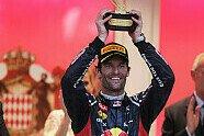 Podium - Formel 1 2012, Monaco GP, Monaco, Bild: Sutton