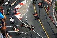 Startunfall Romain Grosjean - Formel 1 2012, Verschiedenes, Monaco GP, Monaco, Bild: Sutton