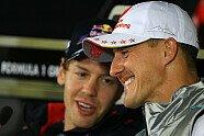 Schumacher & Vettel: Die schönsten Bilder von Michael, Mick und Sebastian - Formel 1 2012, Verschiedenes, Bild: Sutton