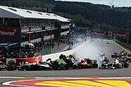 Startunfall - Formel 1 2012, Belgien GP, Spa-Francorchamps, Bild: Sutton
