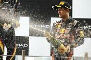 Podium - Formel 1 2012, Abu Dhabi GP, Abu Dhabi, Bild: Sutton