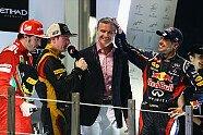 Podium - Formel 1 2012, Abu Dhabi GP, Abu Dhabi, Bild: Red Bull