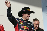 Podium - Formel 1 2012, US GP, Austin, Bild: Sutton