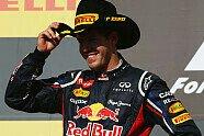 Podium - Formel 1 2012, US GP, Austin, Bild: Red Bull
