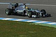 Montag - Formel 1 2013, Testfahrten, Jerez, Jerez de la Frontera, Bild: Sutton