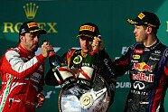 Podium - Formel 1 2013, Australien GP, Melbourne, Bild: Red Bull