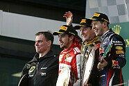 Podium - Formel 1 2013, Australien GP, Melbourne, Bild: Lotus F1 Team
