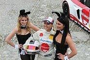 Doreen Seidel: Playboy-Bunny im Rennauto - Motorsport 2013, Verschiedenes, Bild: Frederik Hackbarth