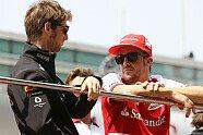 Sonntag - Formel 1 2013, China GP, Shanghai, Bild: Sutton