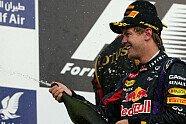 Podium - Formel 1 2013, Bahrain GP, Sakhir, Bild: Sutton