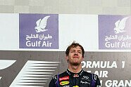 Podium - Formel 1 2013, Bahrain GP, Sakhir, Bild: Red Bull