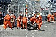 Maldonado-Unfall - Formel 1 2013, Monaco GP, Monaco, Bild: Sutton