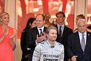 Podium - Formel 1 2013, Monaco GP, Monaco, Bild: Sutton