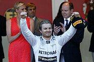 Podium - Formel 1 2013, Monaco GP, Monaco, Bild: Mercedes-Benz