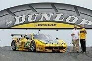 Offizielle Testfahrten - 24 h Le Mans 2013, Testfahrten, Bild: Dunlop