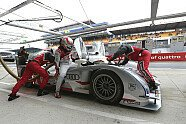 Offizielle Testfahrten - 24 h Le Mans 2013, Testfahrten, Bild: Audi