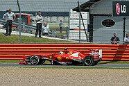 Reifenschäden in Silverstone - Formel 1 2013, Großbritannien GP, Silverstone, Bild: Sutton