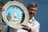 Podium - Formel 1 2013, Ungarn GP, Budapest, Bild: Sutton