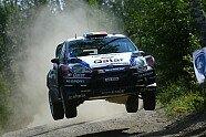 Tag 3 & Podium - WRC 2013, Rallye Finnland, Jyväskylä, Bild: Sutton