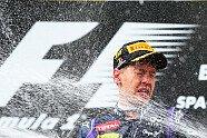 Podium - Formel 1 2013, Belgien GP, Spa-Francorchamps, Bild: Red Bull