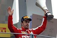 Podium - Formel 1 2013, Italien GP, Monza, Bild: Sutton