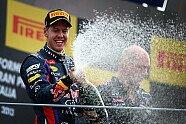 Podium - Formel 1 2013, Italien GP, Monza, Bild: Red Bull