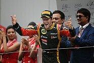 Podium - Formel 1 2013, Indien GP, Neu Delhi, Bild: Sutton