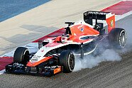 Donnerstag - Formel 1 2014, Testfahrten, Bahrain II, Sakhir, Bild: Sutton