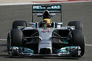 Freitag - Formel 1 2014, Testfahrten, Bahrain II, Sakhir, Bild: Mercedes AMG