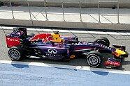 Freitag - Formel 1 2014, Testfahrten, Bahrain II, Sakhir, Bild: Sutton