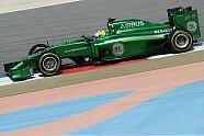 Samstag - Formel 1 2014, Testfahrten, Bahrain II, Sakhir, Bild: Sutton