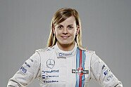 Williams Fahrer-Portraits im Martini-Design - Formel 1 2014, Präsentationen, Bild: Williams