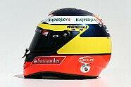 Fahrerhelme 2014 - Formel 1 2014, Australien GP, Melbourne, Bild: Sutton