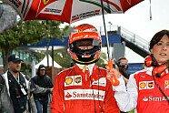 Räikkönen-Unfall - Formel 1 2014, Australien GP, Melbourne, Bild: Sutton