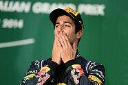 Podium - Formel 1 2014, Australien GP, Melbourne, Bild: Sutton