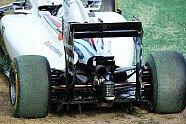 Startunfälle - Formel 1 2014, Australien GP, Melbourne, Bild: Sutton