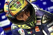 Rossi sorgt mit LED-Helm für Aufsehen - MotoGP 2014, Verschiedenes, Katar GP, Losail, Bild: Milagro