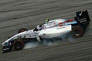 Verbremser & Ausritte - Formel 1 2014, Malaysia GP, Sepang, Bild: Sutton