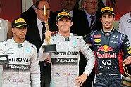 Parc Ferme & Podium - Formel 1 2014, Monaco GP, Monaco, Bild: Sutton