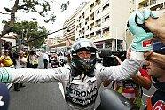 Parc Ferme & Podium - Formel 1 2014, Monaco GP, Monaco, Bild: Mercedes AMG