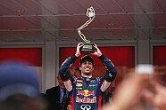 Parc Ferme & Podium - Formel 1 2014, Monaco GP, Monaco, Bild: Red Bull