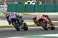 Das Duell: Marquez gegen Lorenzo - MotoGP 2014, Italien GP, Mugello, Bild: Yamaha