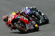Das Duell: Marquez gegen Lorenzo - MotoGP 2014, Italien GP, Mugello, Bild: Milagro