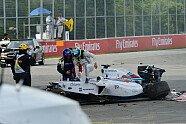 Unfall Massa/Perez - Formel 1 2014, Kanada GP, Montreal, Bild: Sutton