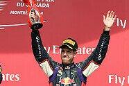 Podium - Formel 1 2014, Kanada GP, Montreal, Bild: Sutton