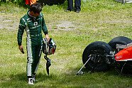 Unfall Bianchi/Kobayashi - Formel 1 2014, Kanada GP, Montreal, Bild: Sutton