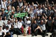 Sonntag - Formel 1 2014, Großbritannien GP, Silverstone, Bild: Mercedes AMG