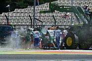 Feuer-Ausfall Kobayashi - Formel 1 2014, Deutschland GP, Hockenheim, Bild: Sutton