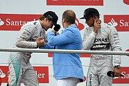 Podium - Formel 1 2014, Deutschland GP, Hockenheim, Bild: Sutton