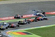 Startunfall Massa - Formel 1 2014, Deutschland GP, Hockenheim, Bild: Sutton